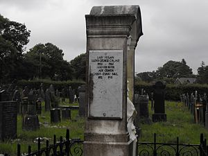 Megan Lloyd George - Family grave in Criccieth