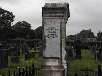 Megan Lloyd George - Family grave in Criccieth