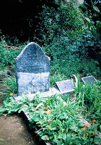 John Adams (mutineer) - The grave of John Adams on Pitcairn Island