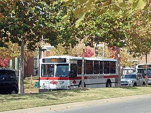 Razorback Transit - The Gray route returns to Union Station via Garland Avenue