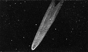 Great Comet of 1819 - Image: Great Comet of 1819 from Kendall