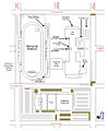 Great Falls High School - campus map - Great Falls Montana US - 2011.jpg