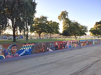 Great Wall of Los Angeles - Image: Great Wall of Los Angeles 2
