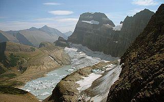 Gem Glacier glacier in Montana, United States