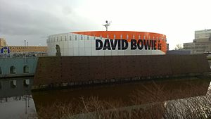 Death of David Bowie - Groninger Museum, Netherlands Bowie tribute (February 2016)