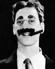 L'actor estatounitense Groucho Marx, en una imachen de 1931.