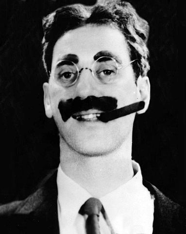 Image result for Groucho Marx Mustache