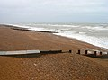 Groynes, St Leonards Beach - geograph.org.uk - 526189.jpg