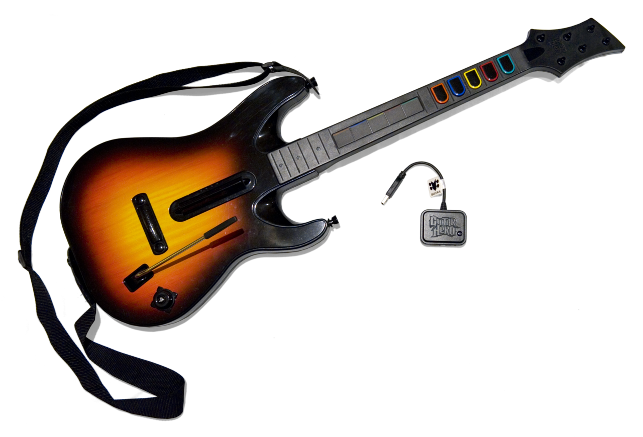 Guitar Hero World Tour Guitar  Pack Bundle Ps