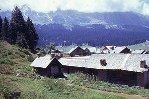 Gulmarg - Gulmarg in August 1969