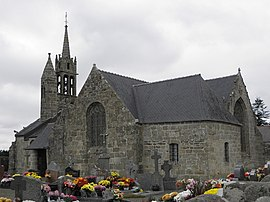 The church of Notre-Dame, in Gurunhuel