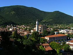 Panorama of Gussago