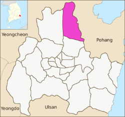 Gyeongju map-Gangdong-myeon-01.png