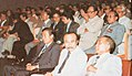 H. Soebrata surrounded by guests at MMPI meeting, Festival Film Indonesia (1982), 1983, p56.jpg