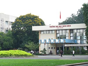 Ho Chi Minh City University of Technology - Library in main campus