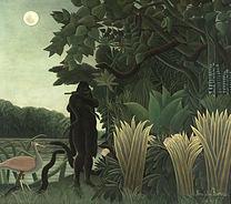ROSSEAU, Henri Snake Charmer, 1907