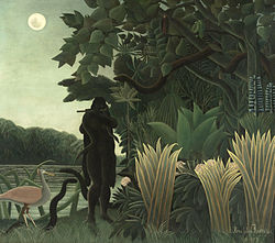 Henri Rousseau: La encantadora de serpientes