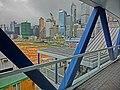 HK Central footbridge view construction site 19-Mar-2013.JPG