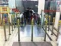 HK Hung Hom MTR Station escalators poles visitors Feb-2013.JPG