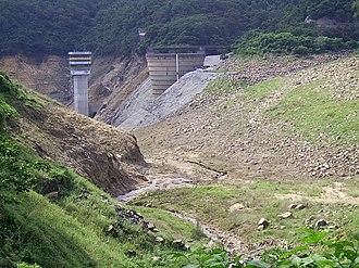 Lower Shing Mun Reservoir - Drain reservoir of Lower Shing Mun Reservoir