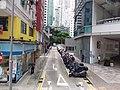 HK WC tram view 灣仔 Wan Chai 莊士敦道 Johnston Road Landale Street September 2019 SSG 03.jpg