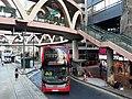 HK tram 64 view CWB 銅鑼灣 Causeway Bay 怡和街 Yee Wo Street ring shape footbridge November 2019 SS2 03.jpg