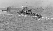 HMS Agincourt und Erin