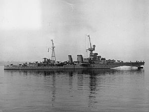 HMS Coventry (D43) - Image: HMS Coventry (1918)