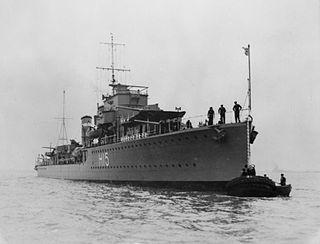 HMS <i>Esk</i> (H15) destroyer