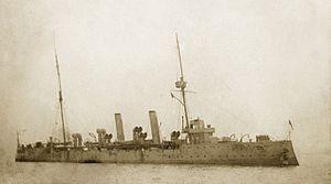 HMS Pomone (1897) - Image: HMS Pandora (1900)