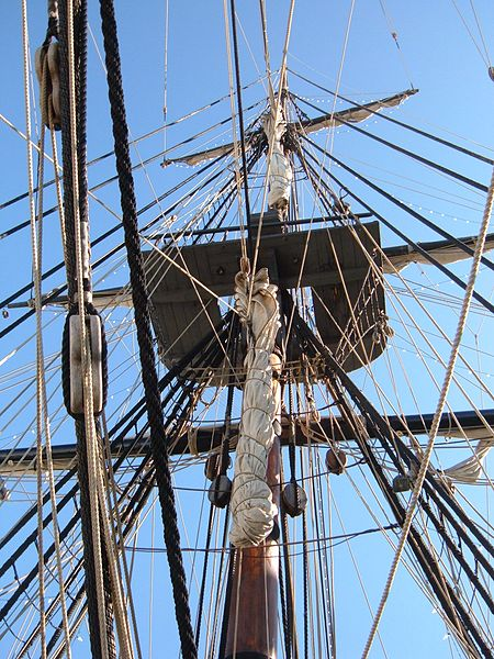 450px-HMS_Surprise_%28replica_ship%29_mast_2.JPG