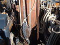 HMS Surprise (replica ship) mast base.JPG