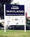 HM Prison Wayland Sign.JPG
