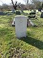 H Clarke RAF grave Mutton Lane Cemetery.JPG