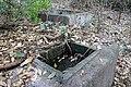 Hachijo-Kojima Island Toriuchi district traces of the Rainwater tub 03.jpg