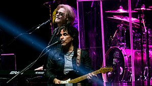Daryl Hall and John Oates performing live at The O2 Arena on 28 October 2017