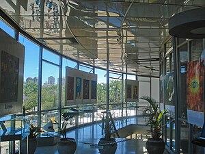 Galileo Galilei planetarium - Hall inside the facility.