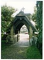 Hambleden (Bucks) St Mary the Virgin, Lych Gate - geograph.org.uk - 19315.jpg