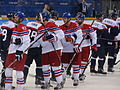 Handshakes between CZE and SVK 2014 Winter Olympics.jpg