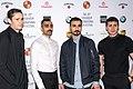 Hannes Fohlin, Alexander Abdallah, Peshang Rad and Alexej Manvelov in 2018.jpg