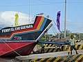 Harbour Scene with Che Guevara Ferry - San Jorge - Near Rivas - Nicaragua (31377398420).jpg