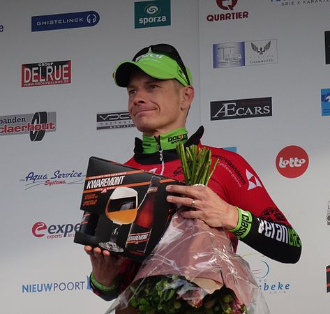 Harelbeke - Driedaagse van West-Vlaanderen, etappe 1, 7 maart 2015, aankomst (B42).JPG