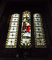 Harlaxton Ss Mary and Peter - interior South Aisle window 02.jpg