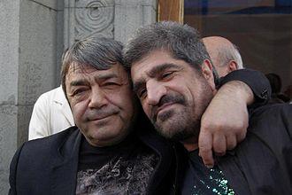 Harout Pamboukjian - Harout Pamboukjian with Ruben Hakhverdyan in Yerevan, 2012