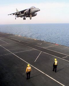 Harrier GR7 over HMS Illustrious (R06) 1998.JPEG