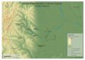 Harta morfografică a comunei Gugești, județul Vrancea.png