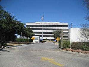 Harvey, Louisiana - Jefferson Parish Sheriff's Office, Harvey
