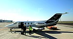 Hawker 400XP Prague airport 2015 1.jpg