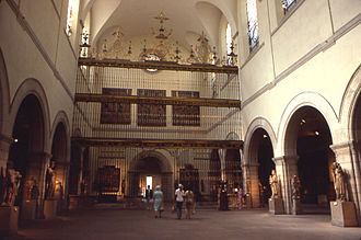 Valladolid Cathedral - Gate of the cathedral, sold in 1956, currently exhibited in New York's Metropolitan Museum of Art.
