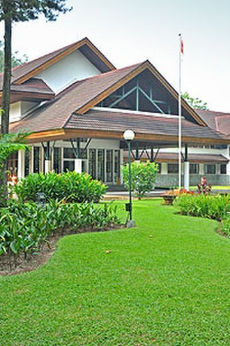 Center for International Forestry Research - CIFOR's headquarters in Bogor, Indonesia